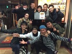 2015年忘年会・Team0564大切な仲間たち