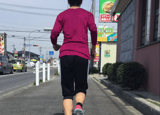 マラソンランナーの動作分析