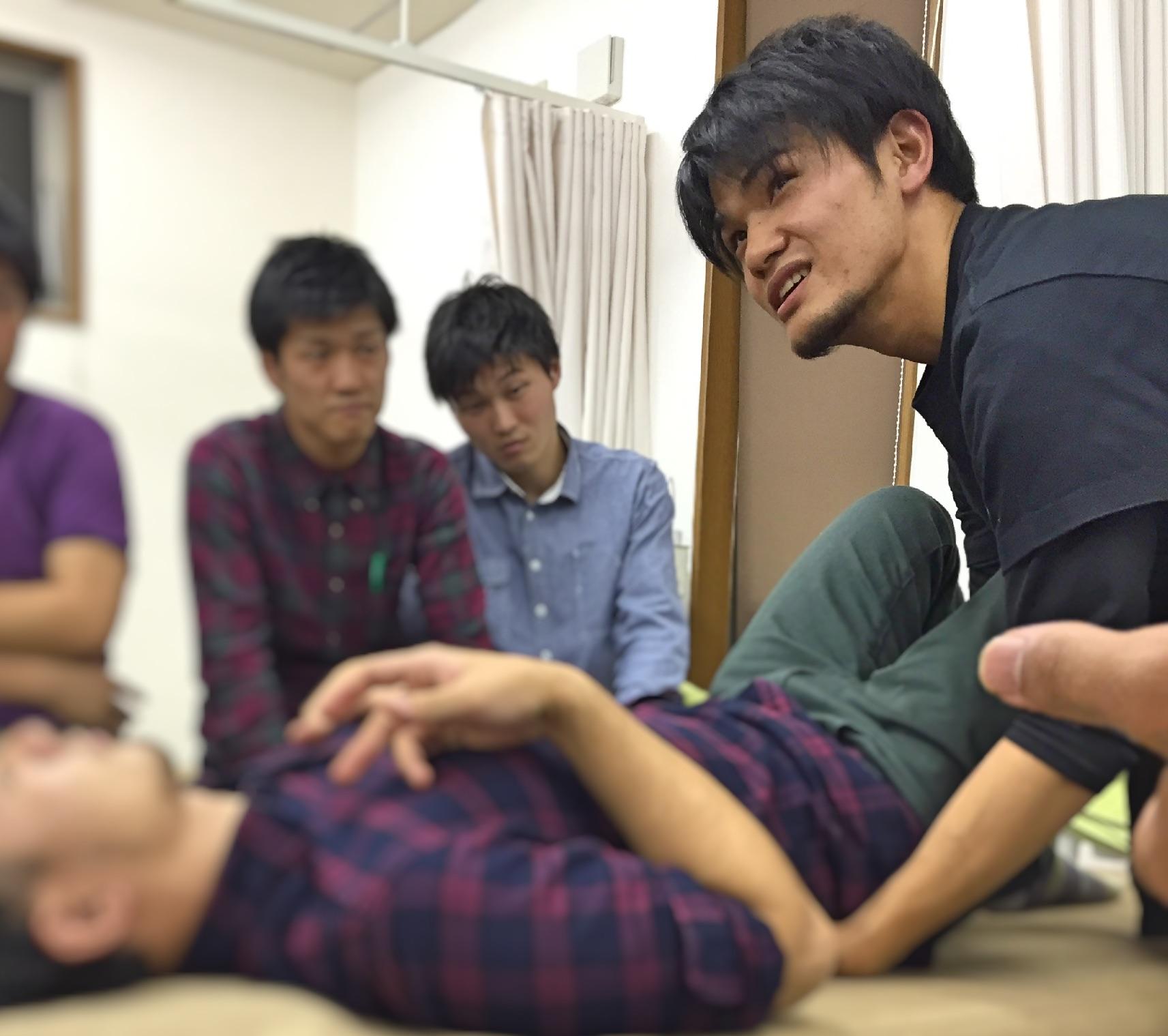月例講習会2015年10月 岡崎市 セラピストとトレーナー 勉強会