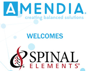 PR: Amendia Announces Acquisition of Spinal Elements