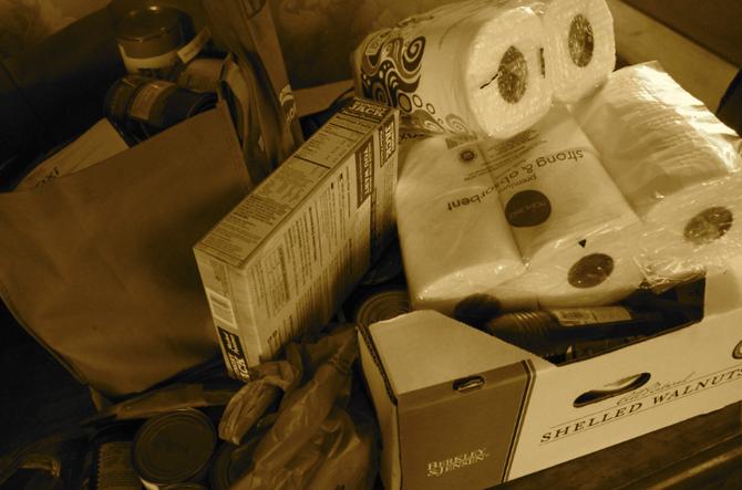 Food Bank Donations Delivered!
