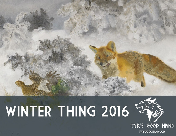 Winter Thing Announced!