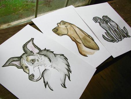 Pet Portraits on Sale!