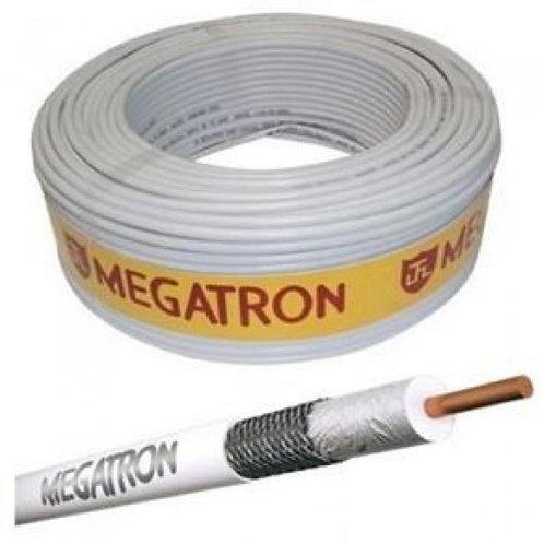Cabo coaxial RG 06 67% Megatron