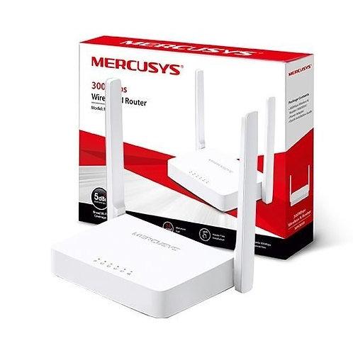 ROTEADOR WIFI 300 MBPS 2 ANTENAS MERCUSYS MW301R WIRELESS