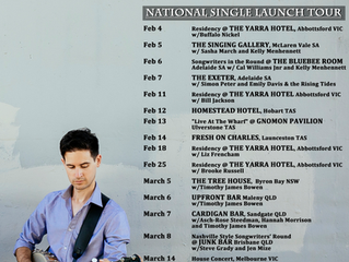 National Single Launch Tour