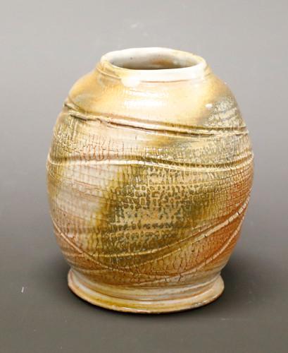 Small Textured Jar DAY.JPG