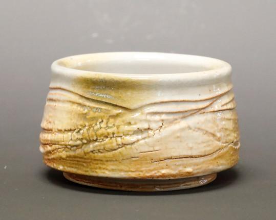 Textured Shino Tea Bowl 2 DAY.JPG