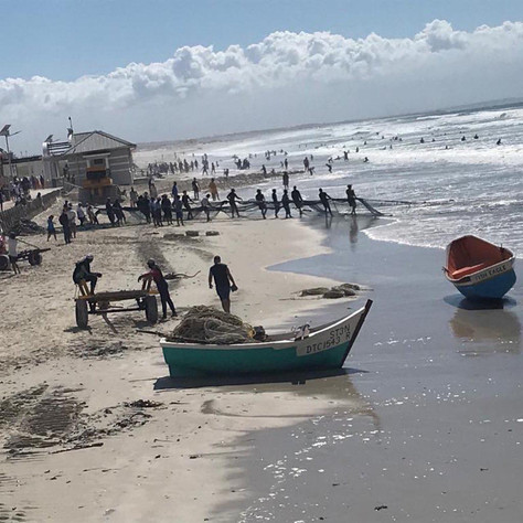 Fishing in Muizenberg - Western Cape surf paradise