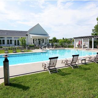 Community pool, Easton Village