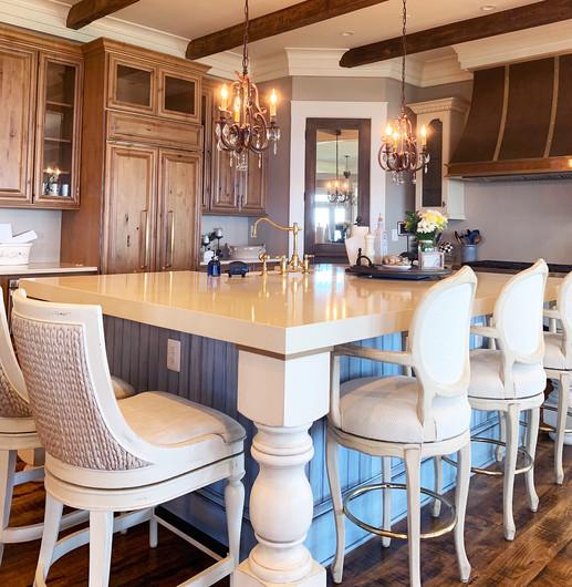 New construction kitchen. St. Michaels, MD.
