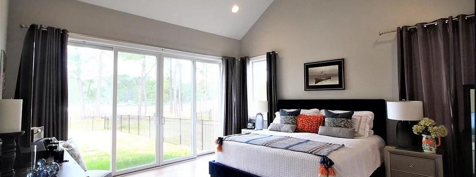 Custom Bedroom Eastern Shore Home