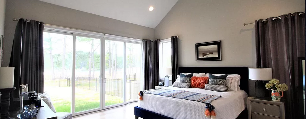 Custom Bedroom Eastern Shore Home