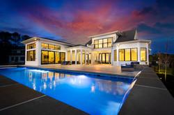 Twilight Shot - Custom Home