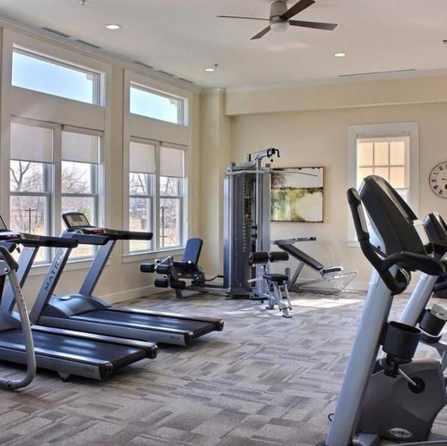 Community fitness center, Easton Village