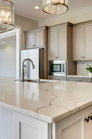 Custom kitchen design in new construction, Saint Michaels, MD.