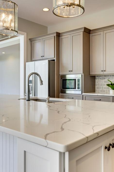 Custom kitchen design in new construction, Saint Michaels, MD.