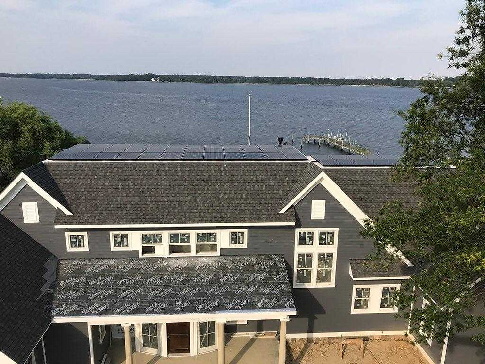 Sunrise Solar and Paquin Design Build in St. Michaels, MD