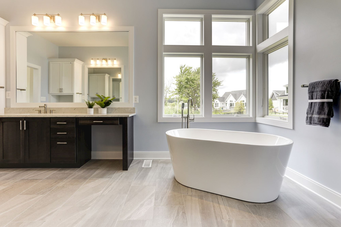 Beautiful bathroom design in Saint Michaels, MD Home