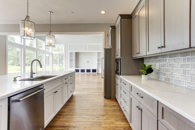 Custom Kitchen Design in Saint Michaels Home.