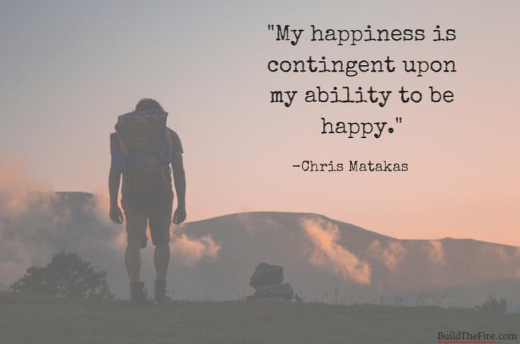 Quote from Chris Matakas