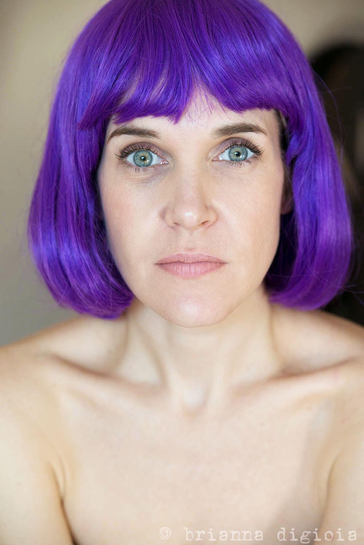 My Purple Wig