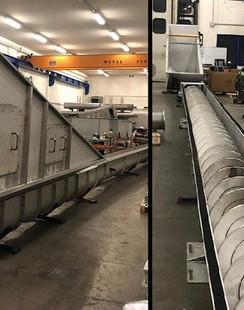 17 Heavy Duty Conveyor for Biogas Plant