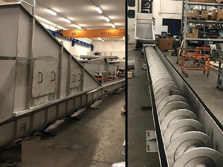 Heavy Duty Conveyor for Biogas Plant? Yes, We do!