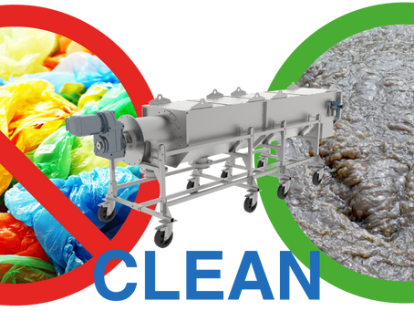 NO MORE PLASTIC IN YOUR DIGESTER