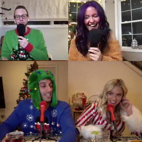 Virtual Holiday Extravaganza with 20-Somethings Doing Nothing