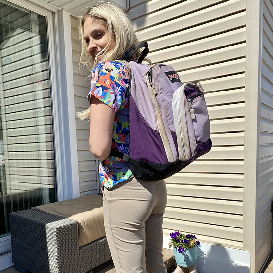 What's in Carla Marie's high school backpack?!