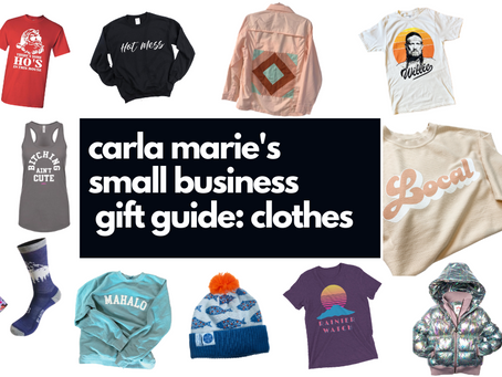 Small Business Gift Guide: Clothes