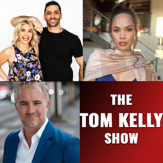 Listen to us on The Tom Kelly Show