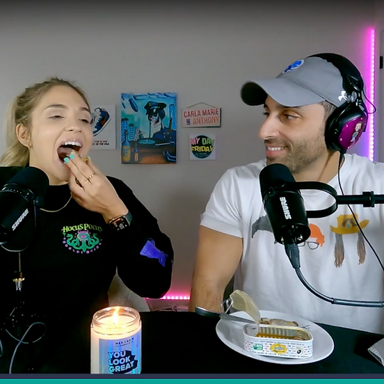 Trying Sardines + We're getting trolled because of our relationship
