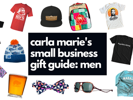 Small Business Gift Guide: Men