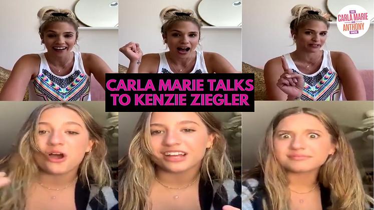 """Carla Marie Talks """"Exhale"""" and Deep Fried PB&J with Kenzie Ziegler!"""