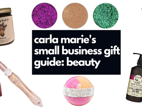 Small Business Gift Guide: Beauty