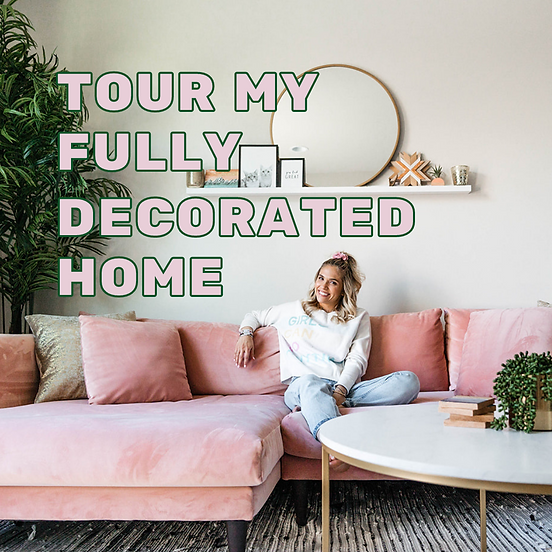 Tour Carla Marie's Decorated Home!