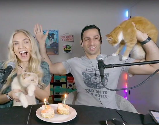 It's Caroline and Max's Bday! (CM's cats)