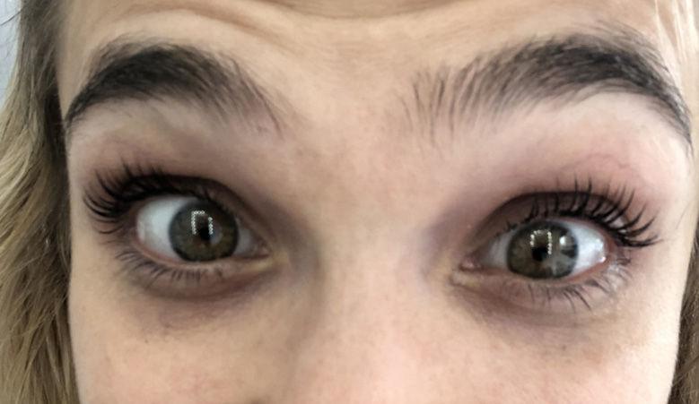I Got My Eyelashes Permed