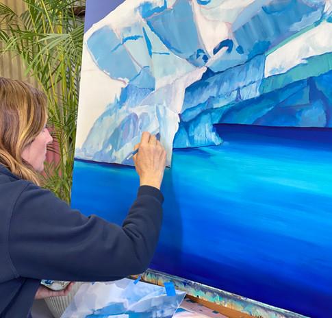 Shelley painting antartica.jpg