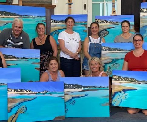 Masterclass paint the ocean group shot.jpg