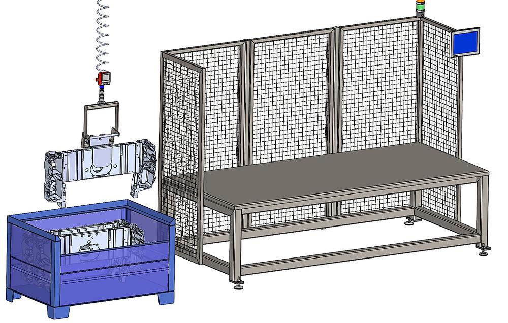 Präzise und schnell Handhabung von Bauteile – für den Balancer ezzFLOW kein Problem