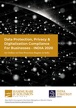 Data Protection, Privacy & Digitalisatoi