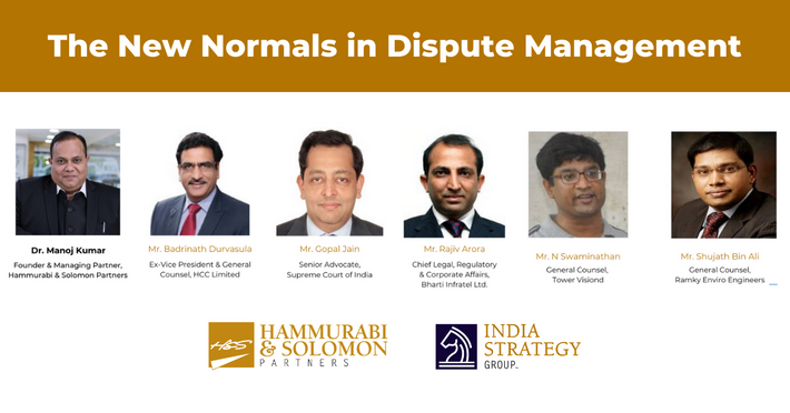 The New Normals in Dispute Management [Webinar & Issue Brief]