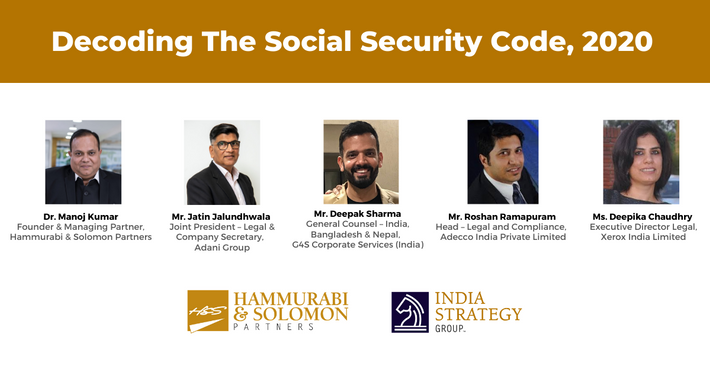 Decoding The Social Security Code, 2020 [Webinar & Issue Brief]