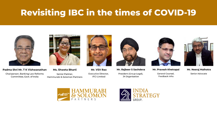 Revisiting IBC in the times of COVID-19 [Webinar & Issue Brief]