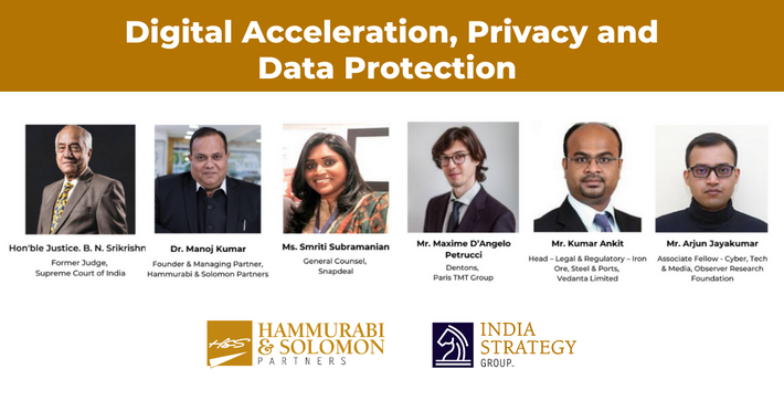 Digital Acceleration, Privacy & Data Protection [Webinar & Issue Brief]
