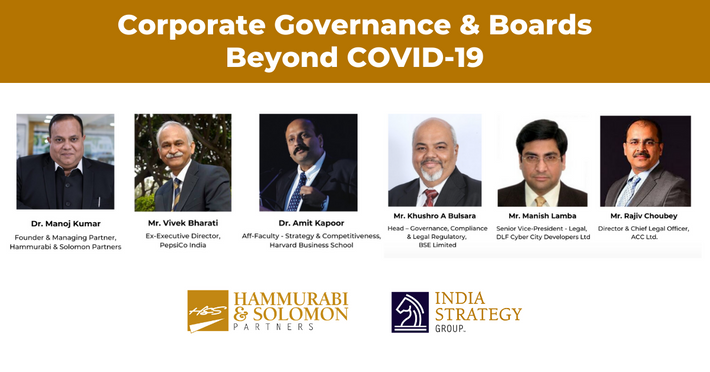 Corporate Governance & Boards Beyond COVID-19 [Webinar & Issue Brief]