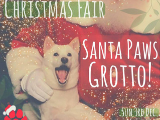 Santa Paws Grotto at K9 Anytime Christmas Fair